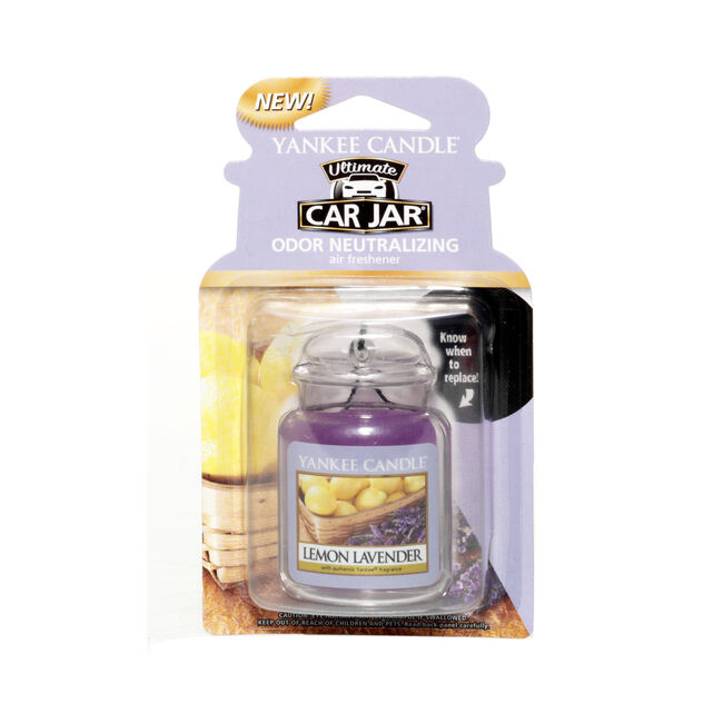 Yankee Candle Lemon Lavender Car Jar