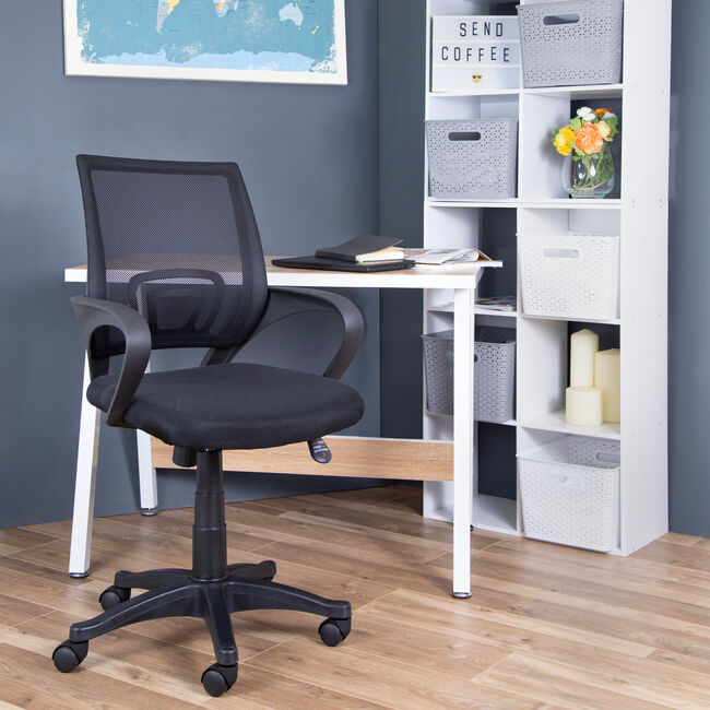 Swivel Netted Back Lecaree Office Chair