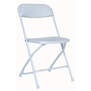 Easy Folder White Chair