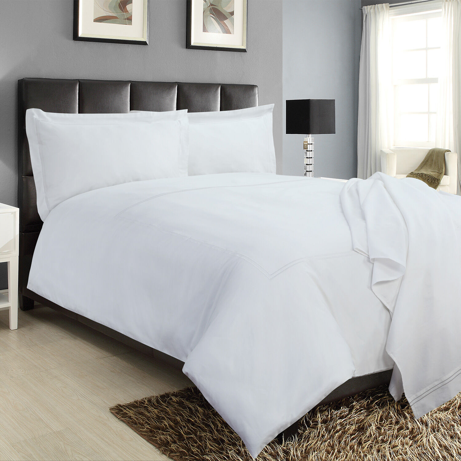 Double Stitch Duvet Cover