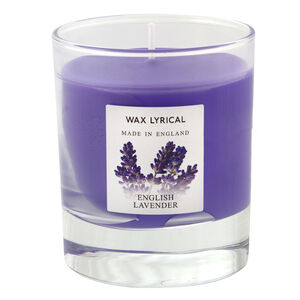 English Lavender glass Jar Candle