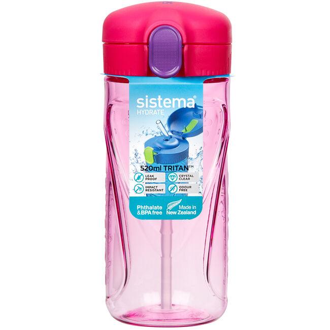 Sistema Tritan 520ml Quick Flip Bottle