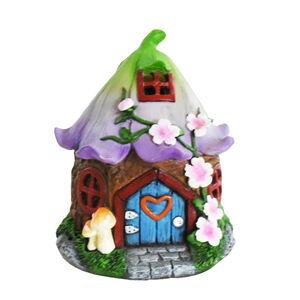 Solar Fairy House Garden Decoration