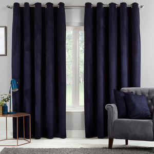 DIAMOND NAVY 66X54 Curtain