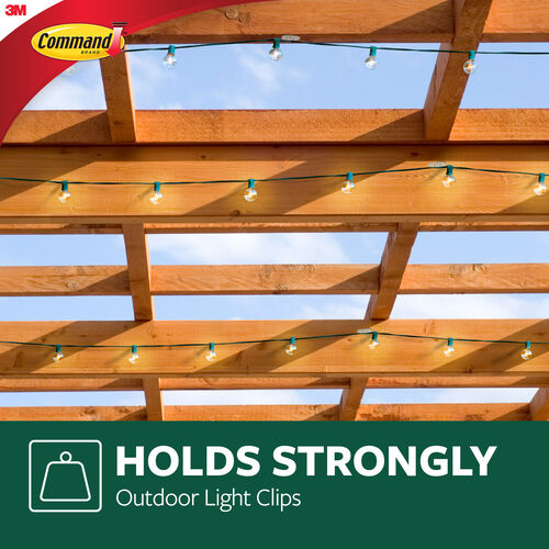 Command Strips Outdoor Light Clips 16 pack