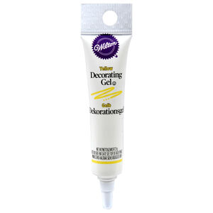 Wilton Yellow Gel Tube