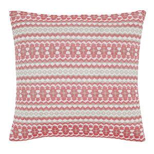 Summer Geo Red Cushion 45cm x 45cm
