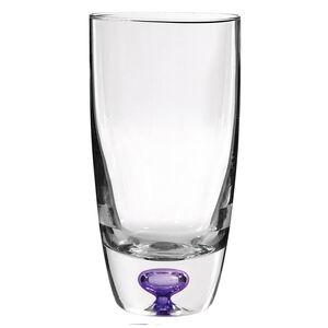 Cashel Living Amethyst Core Hi-Ball Glasses