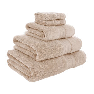 450GSM  ZERO TWIST NATURAL 30*30 Face Towel 2pk