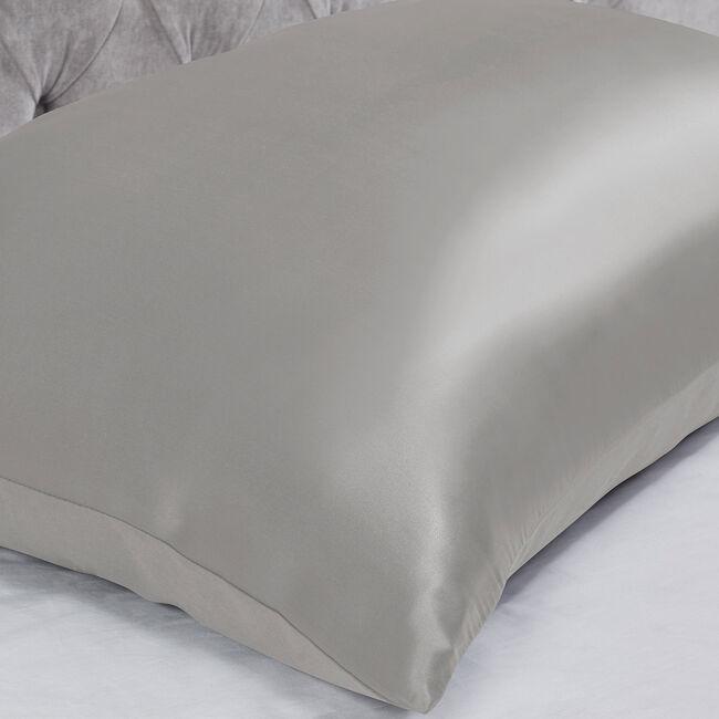 Silk Pillowcase - Silver