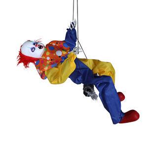 Hanging Clown with Kicking Legs