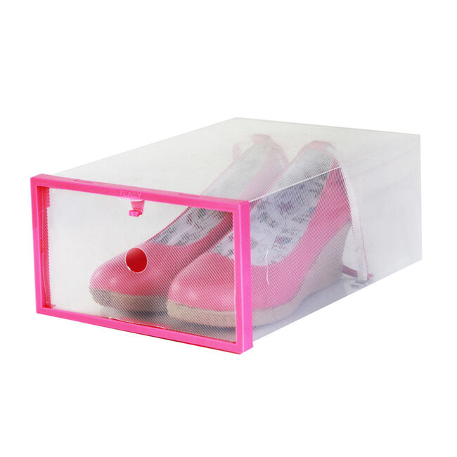 Lady's Shoe Box 2 Pack Pink