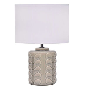 Ceramic Leaf Table Lamp