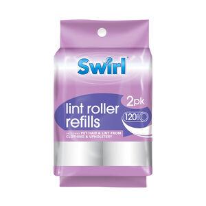 Swirl Lint Roller Refills 2 x 60