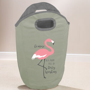 Flamingo Laundry Hamper