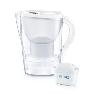 Marella Jug with 4 Filters - Cool White