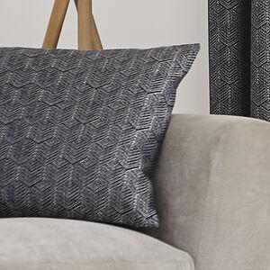 Armadillo Scale Navy Cushion 45x45cm