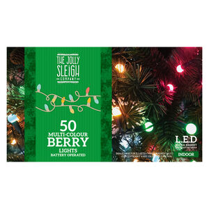 50 Multicolour Berry Lights