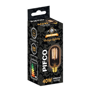 Pifco Vintage 40W Bulb (T45 BC)