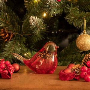 Cashel Living Glass Red Robin