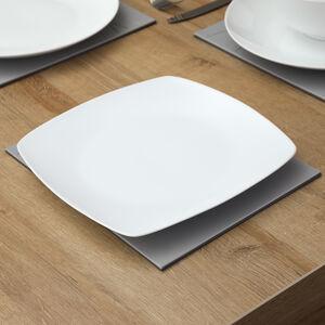 ABNEY & CROFT WHITE Square Dinner Plate