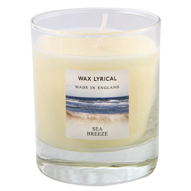 Sea breeze Glass Jar Candle