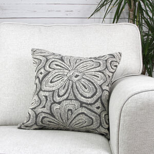 Annie Cushion Cover 45x45cm - Grey