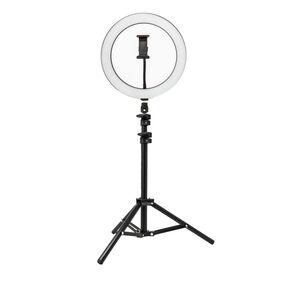 Content Creator 26cm LED Ring Light & 1.1M Tripod