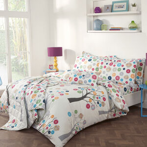 Button Trees Duvet Cover