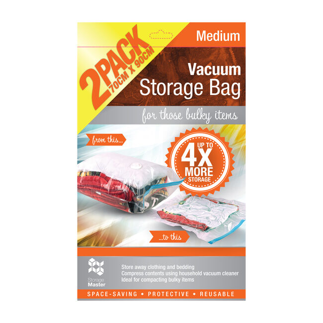 Vacuum Bag Set 2 Pack 70cm x 90cm
