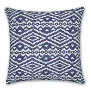 Aztec Blue Cushion 58x58cm