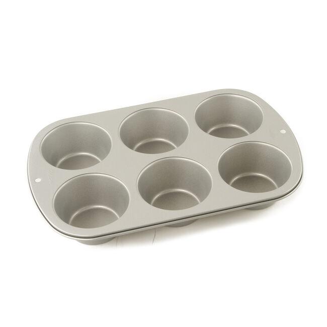 Recipe Right Jumbo Muffin Pan 6 Cup