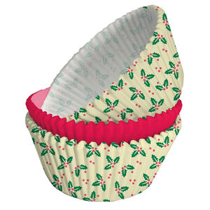 Holly 75 Cupcake Cases