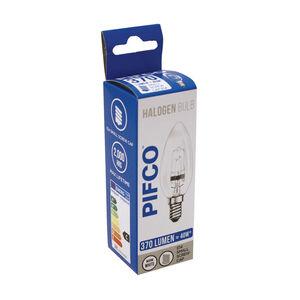 Pifco Halogen Candle Bulb C35-H 28W 370Lumen