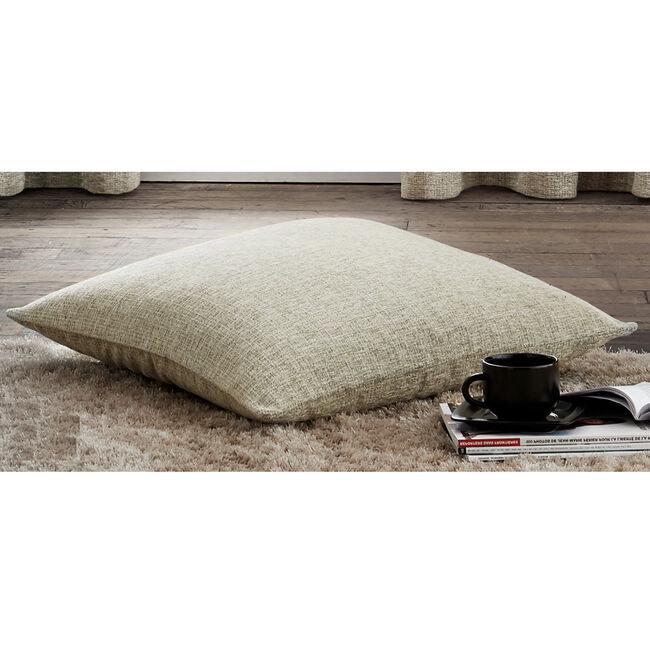 Textured Chenille Warm Cream Cushion