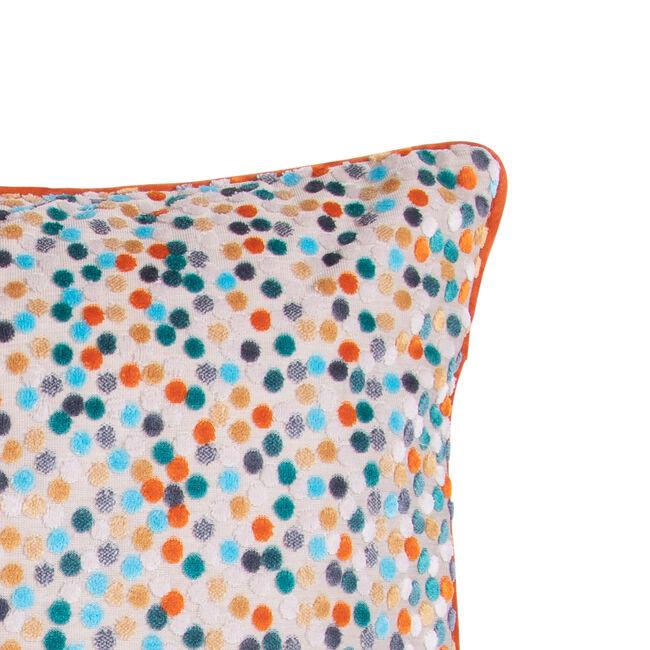 Sophie Spot Cushion 45 x 45cm - Orange