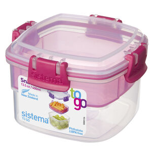 Sistema Snacks To Go with Coloured Clips