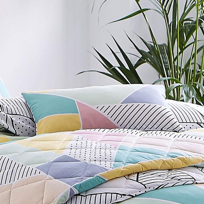 Trio Spot Cushion Pastel 30cm x 50cm