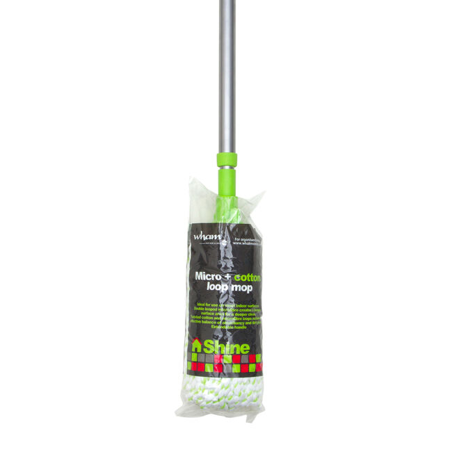 Micro Cotton Mop with Extending Handle