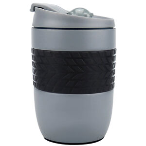 Body Go Grey Stainless Steel Travel Mug 260ml