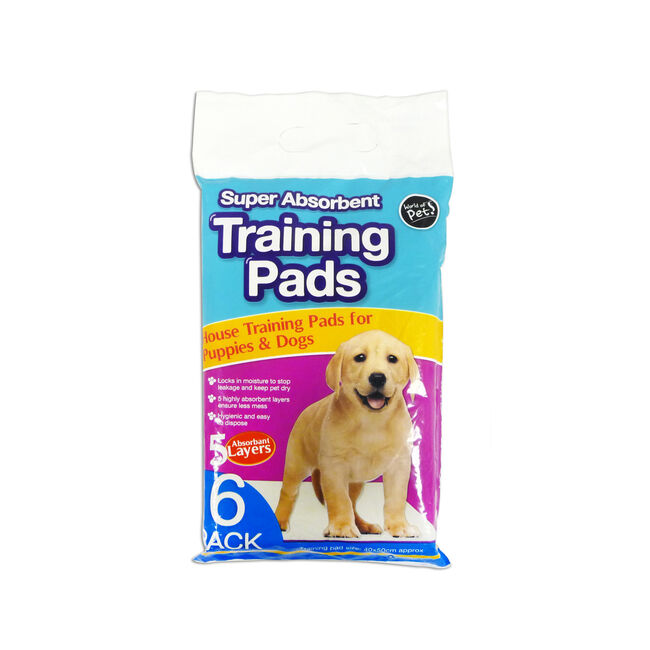 Puppy Training Pads - 6 Pack