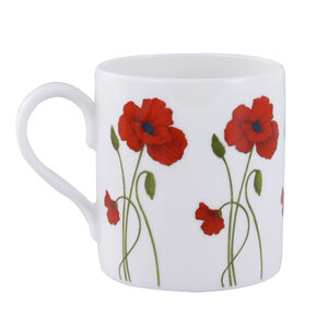 Stem Poppy Bone China Mug