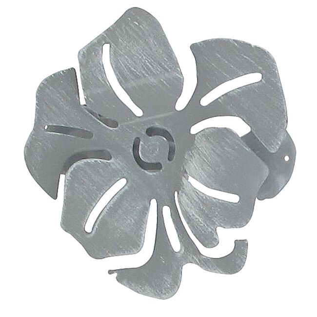 Coquelicot White/Grey Curtain Clip 2Pk