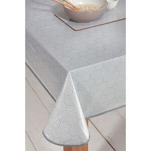 Geo Grey Table Cloth