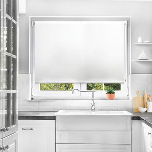 BAILEY & COLE 60x160cm Roller Blind White