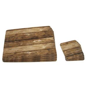 Wood Love 4pk Mats Coasters