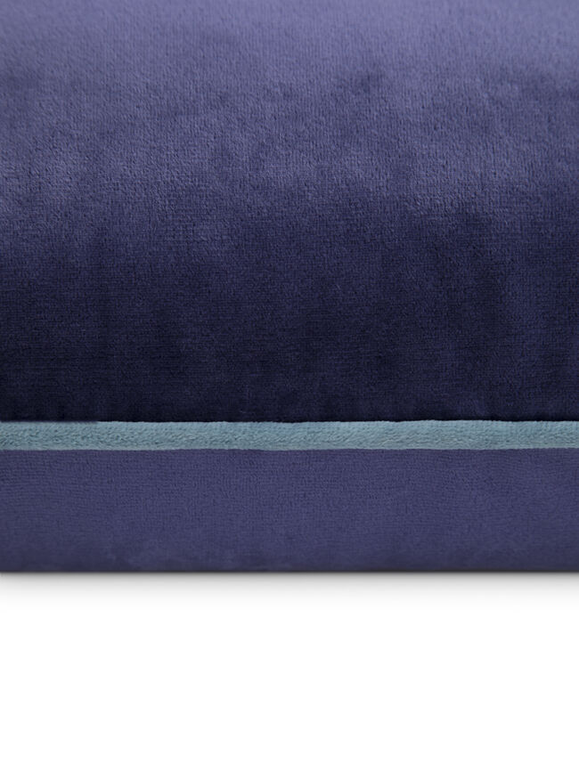 Naomi Cushion 45x45cm - Navy