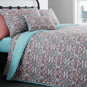 Dynasty Bedspread Grey 200cm x 220cm