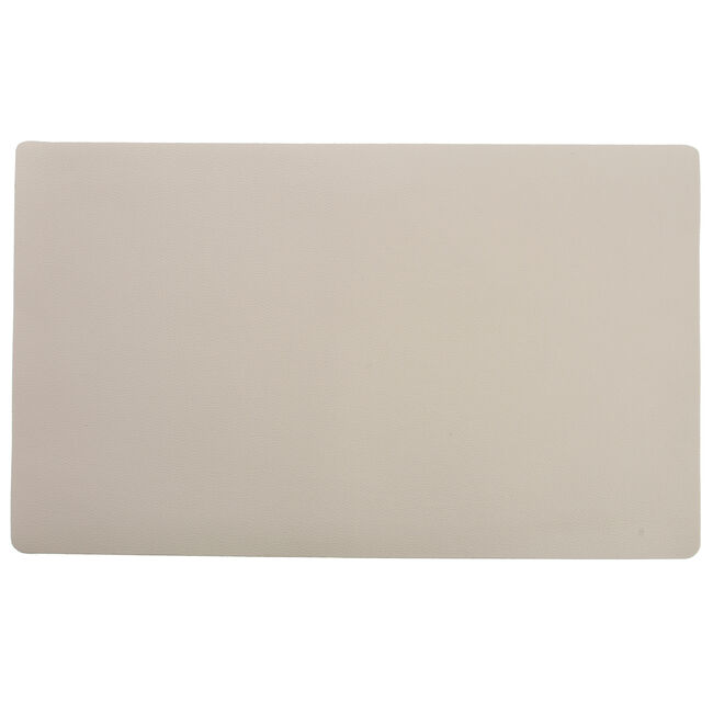 Leather Placemat - Cream
