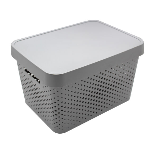 Infinity Charcoal 4.5L Basket with Lid